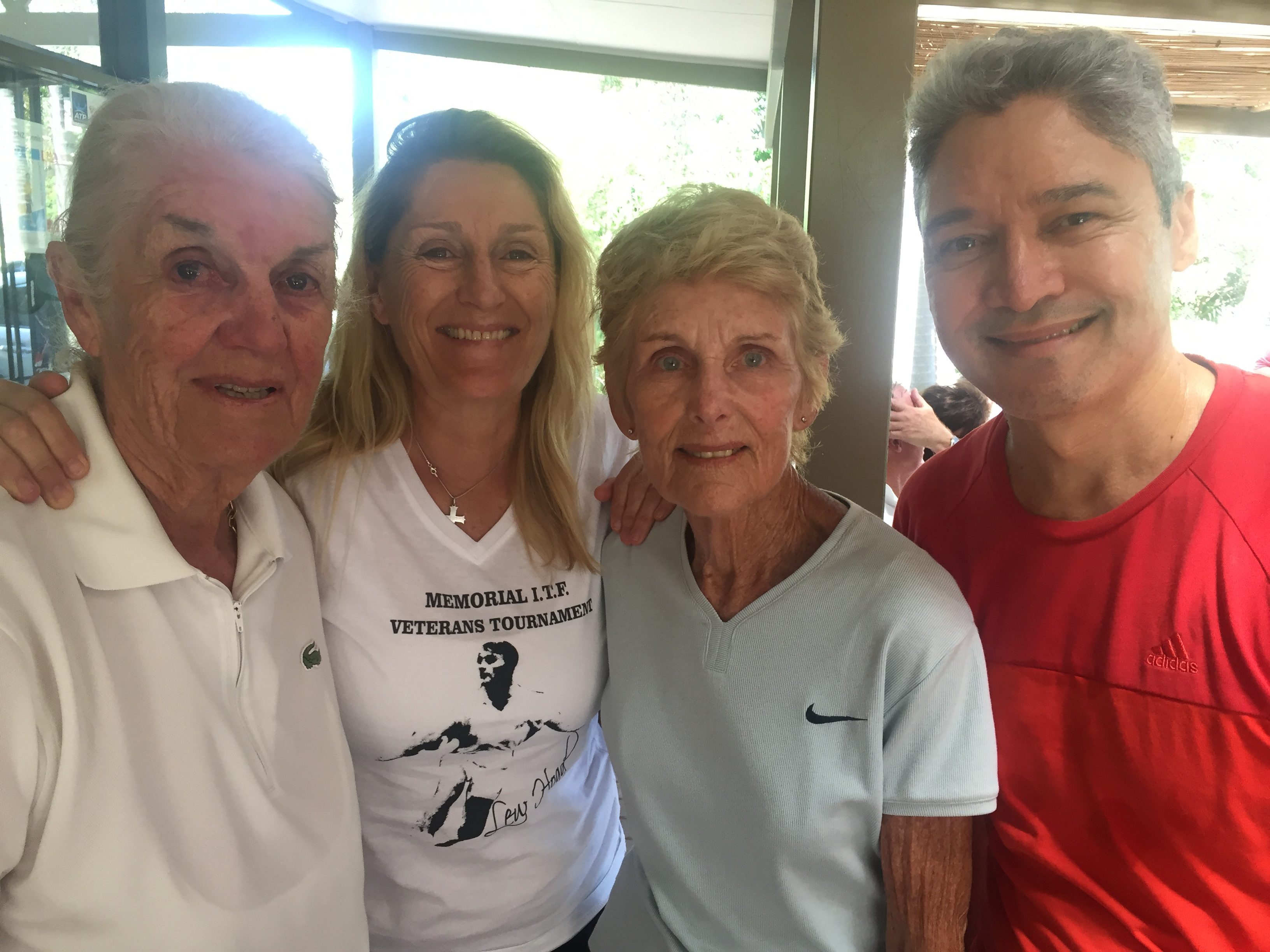 Remembering Lew Hoad Australian tour with Jenny & Jane Hoad